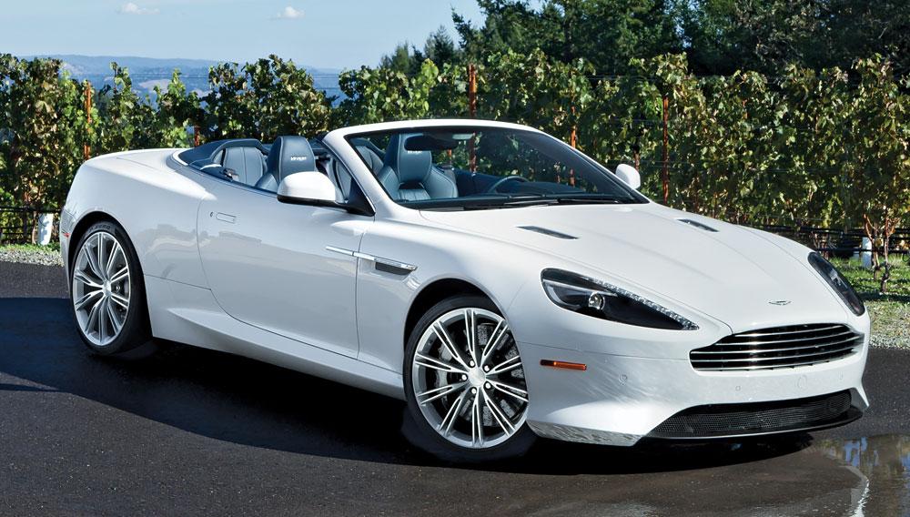 Car Of The Year 2012 No 7 Aston Martin Virage Volante Robb Report