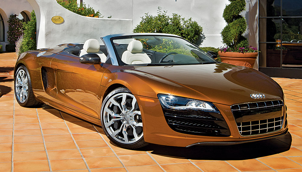 Luxury Car Brand Audi R8 Spyder V10 Robb Report