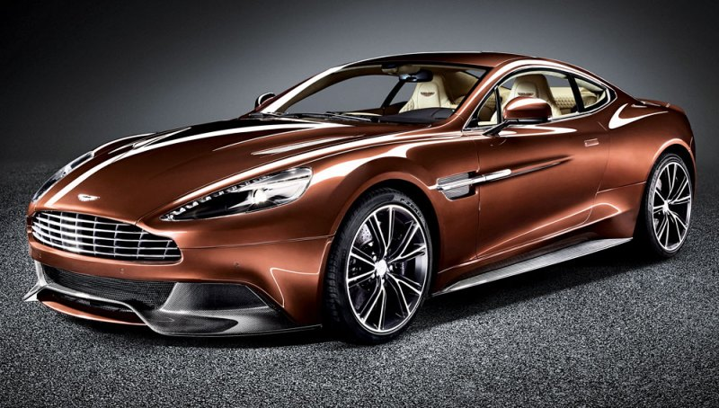 Frontrunners 2013 Aston Martin Vanquish Robb Report