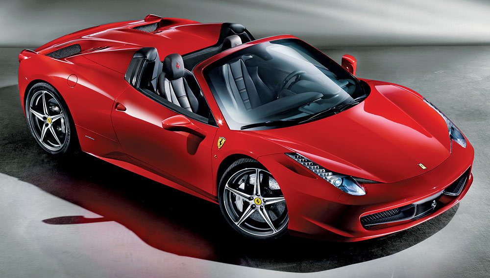 Best Of The Best 2012 Convertibles Ferrari 458 Spider Robb Report
