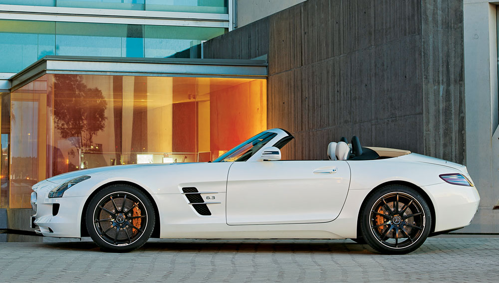 Best of the Best 2012: Convertibles: Mercedes-Benz SLS AMG ...