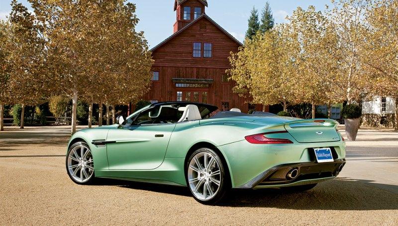 Car Of The Year 2014 Aston Martin Vanquish Volante Robb Report