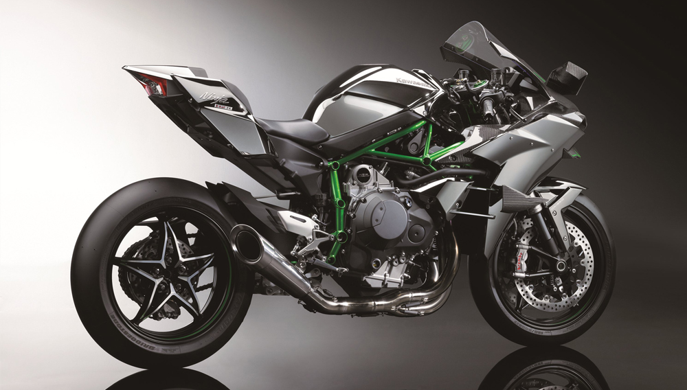 The New Kawasaki Ninja H2r Superbike Is