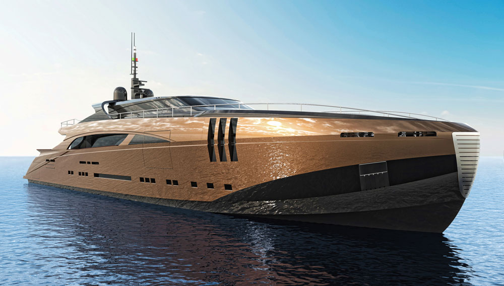 The 26 4 Million Belafonte Yacht Concept Is A Modern Classic Robb Report