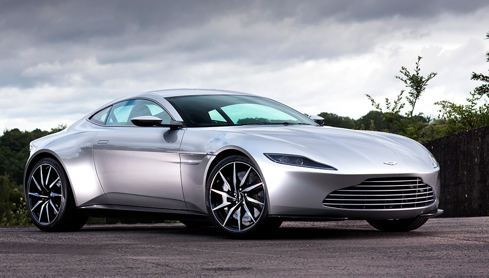 Christie S To Sell One Of The 10 James Bond Aston Martin Db10 Coupes From Spectre Robb Report
