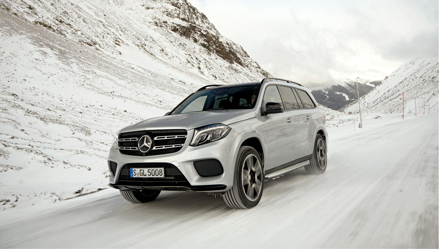 The New Mercedes Benz S Class Suv Climbs The Austrian Alps Robb Report