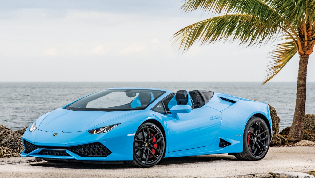 Best of the Best 2016: Wheels | Convertibles: Lamborghini Huracán LP 610-4  Spyder – Robb Report