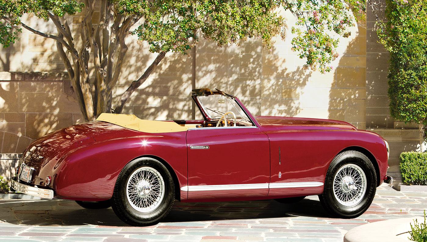 1951 Alfa Romeo 6c 2500 Convertible Robb Report