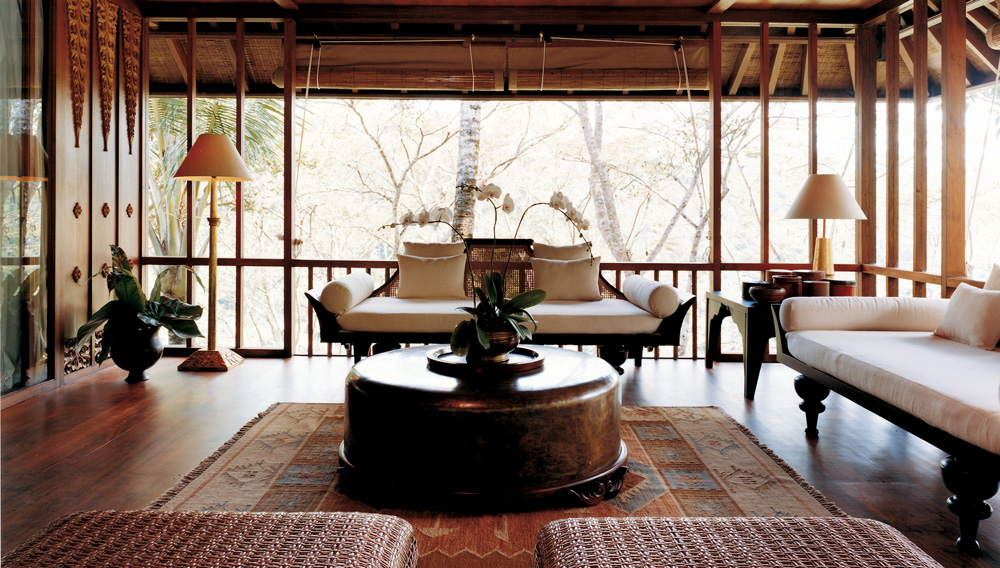 A room at Shambhala Estate in Bali.