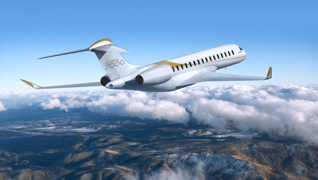 Bombardier Global 7000.