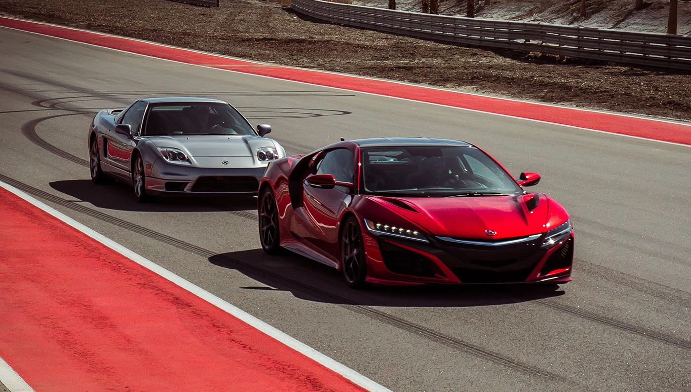 Supercar Shootout Original Acura Nsx Vs New Acura Nsx Robb Report