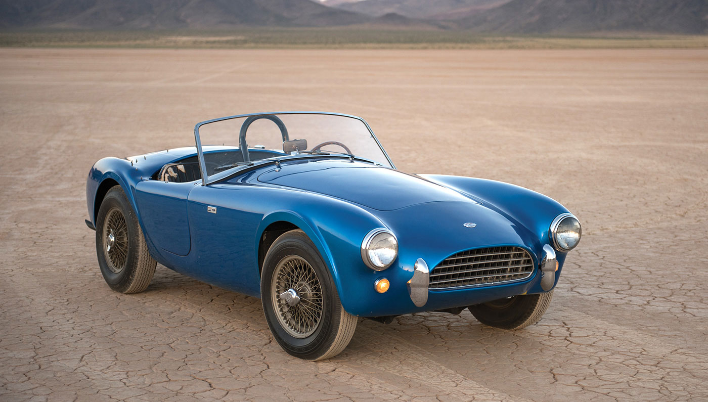 The first Shelby Cobra, CSX 2000