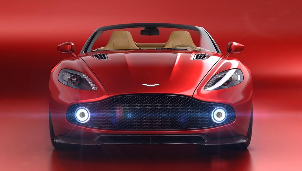Aston Martin Drops Its Top With The Red Hot Vanquish Zagato Volante Convertible Robb Report