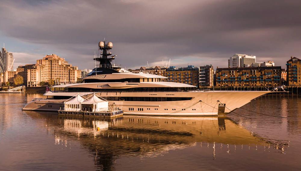 Kismet, Lürssen's 312-foot yacht