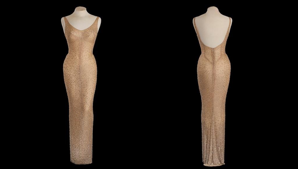 Marilyn Monroe S Iconic Happy Birthday Mr President Dress For Sale Robb Report