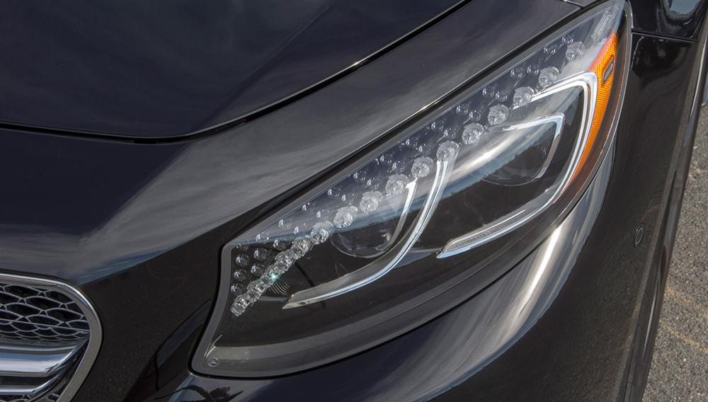 mercedes benz s class swarovski crystal headlights robb report robb report