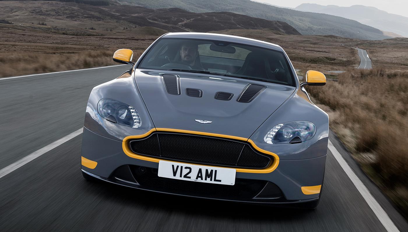 Driving The Aston Martin V12 Vantage S Robb Report