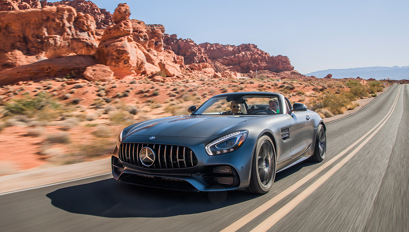 An Intimate Sneak Peek At The 2018 Mercedes Amg Gt C Roadster Robb Report