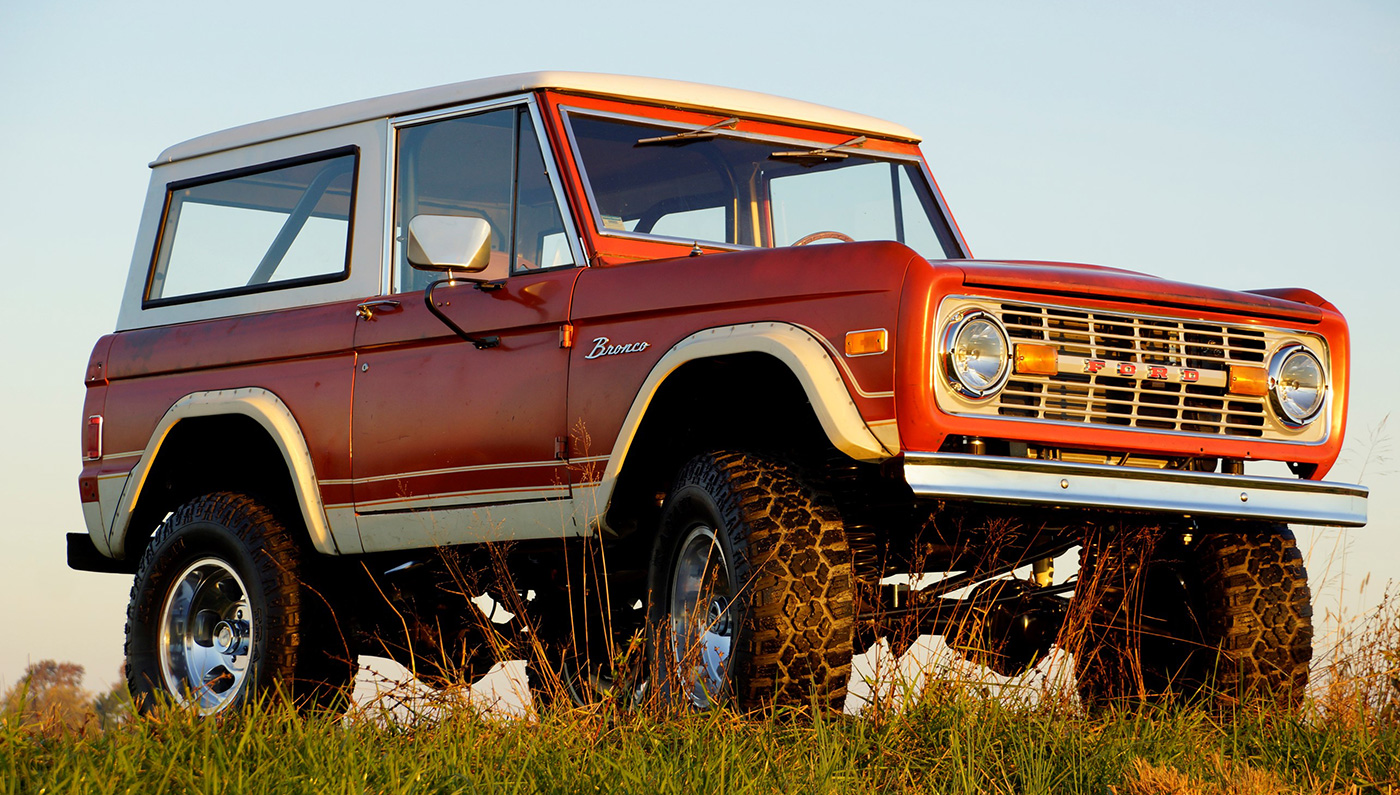 The Easiest Way To Own A Vintage Ford Bronco Robb Report