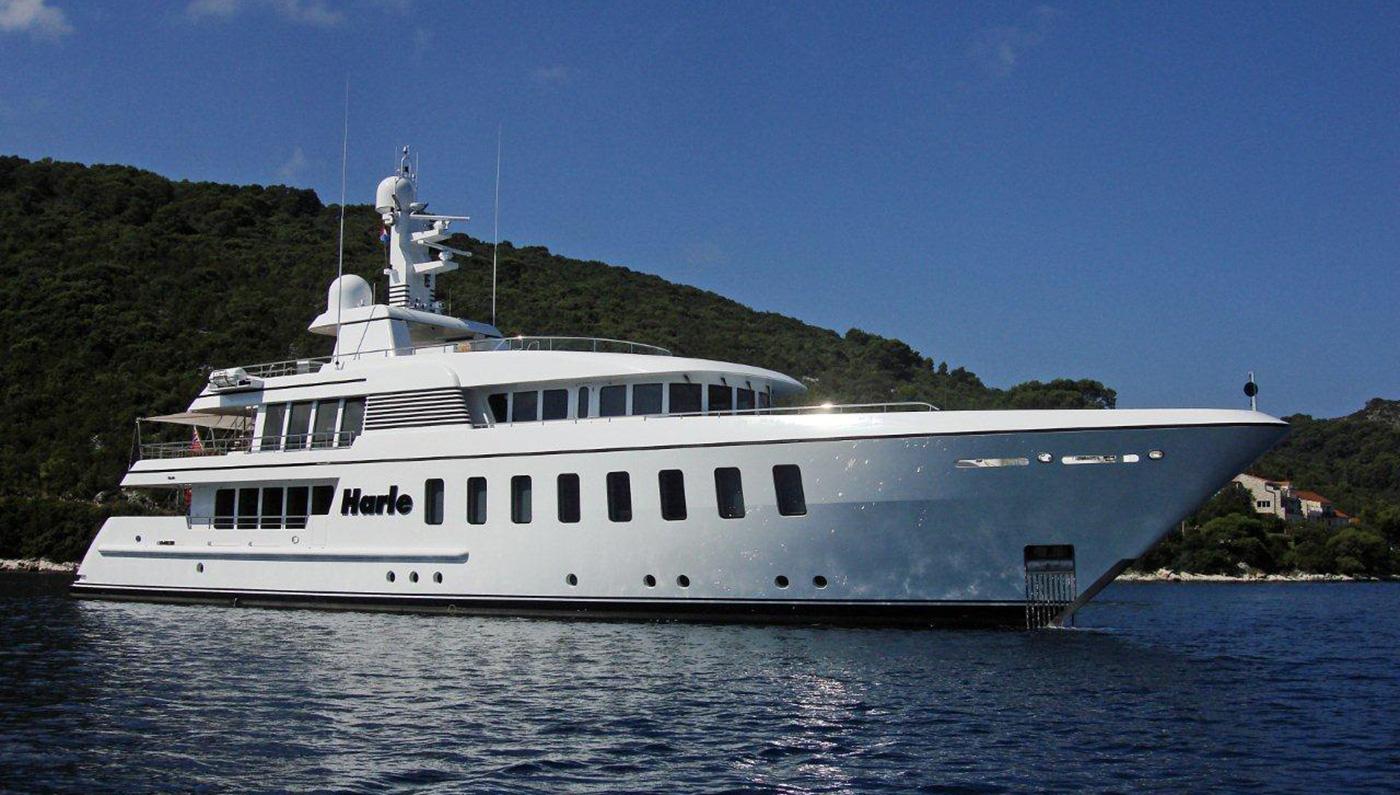 Feadship's Harle yacht