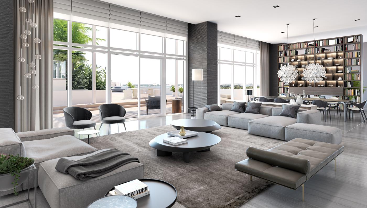 Penthouse at the Ritz-Carlton Residences, Miami Beach