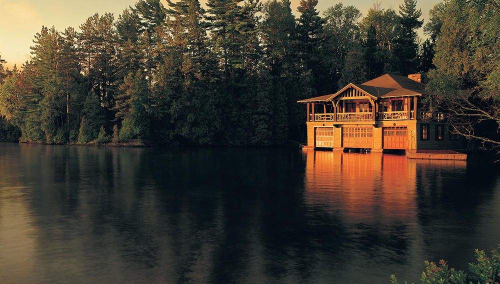 The Point in upstate New York's Great North Woods