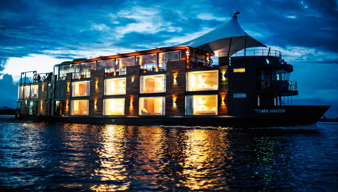 Aqua Expedition's intimate 16-suite Aria