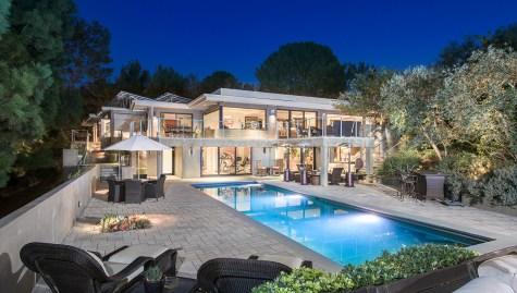 Jane Fonda Home in Beverly Hills, California