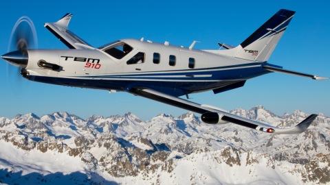 TBM 910 Turboprop Plane