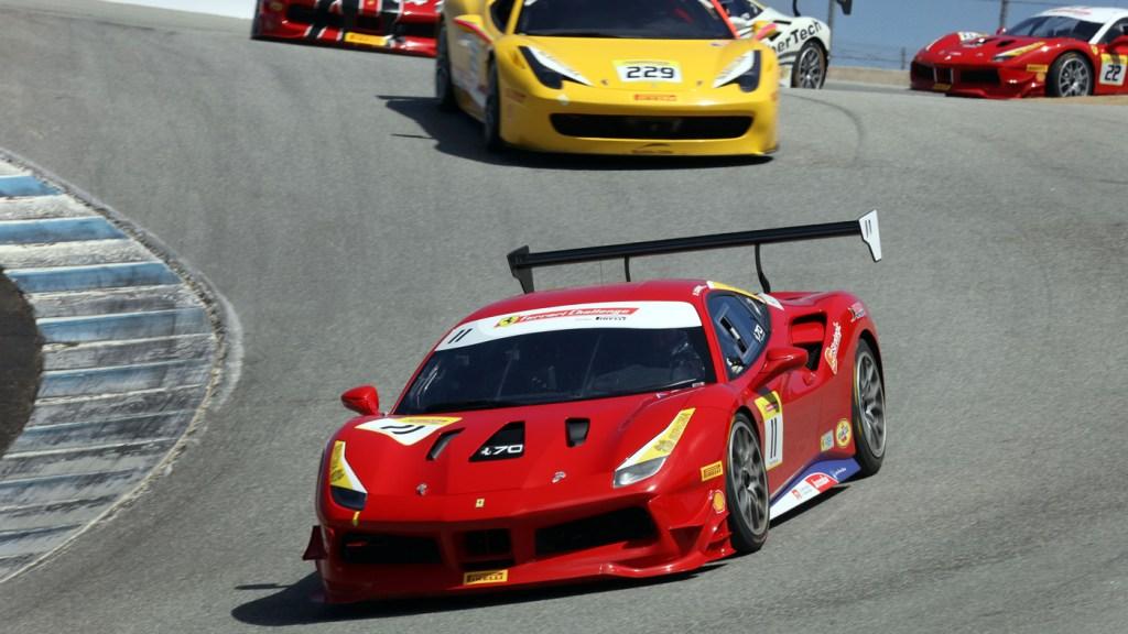 Michael Fassbender Races In The Ferrari Challenge At Laguna Seca Robb Report