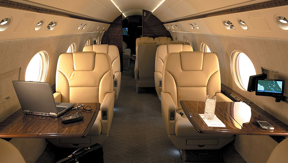Bliss Jet Interior