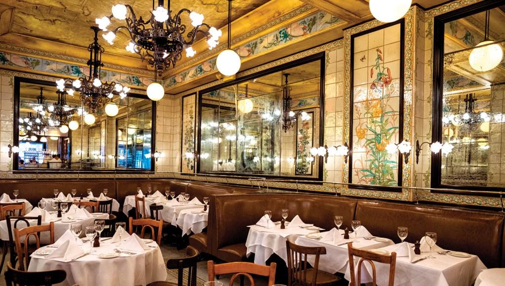 Augustine restaurant in the Beekman hotel