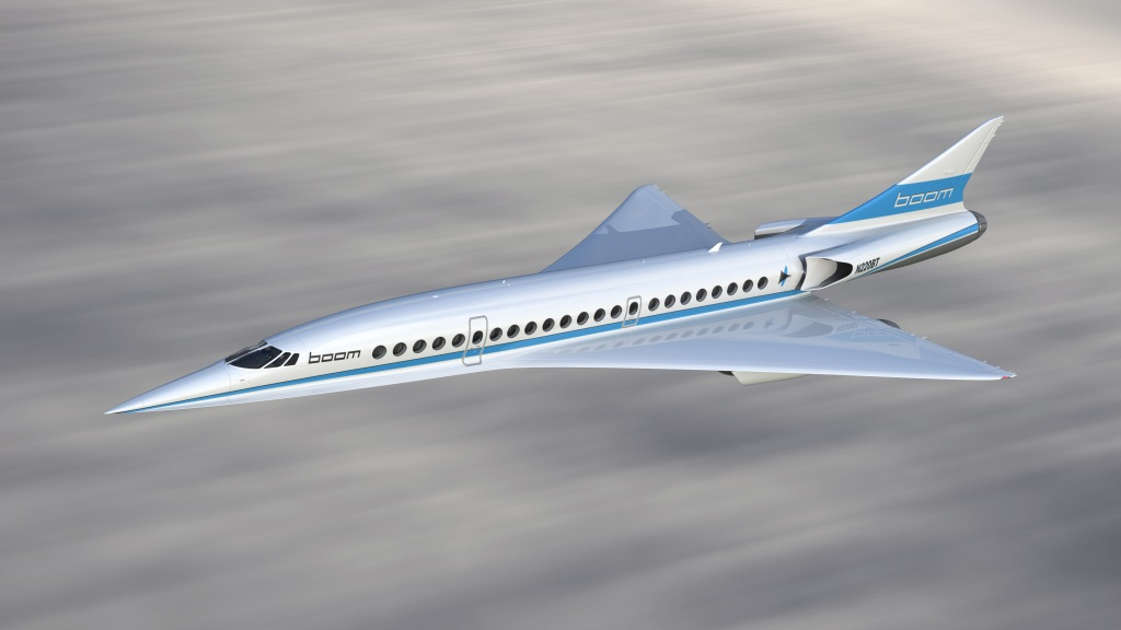 Supersonic Airliner