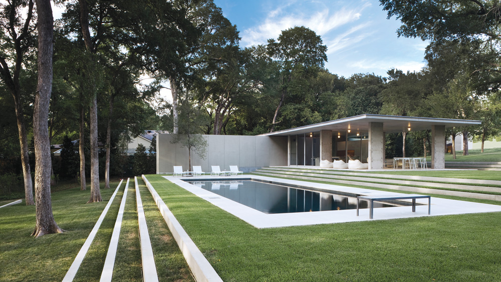 A Dallas home neighboring the city's most prestigious estates at 10210 Strait Lane in Preston Hollow