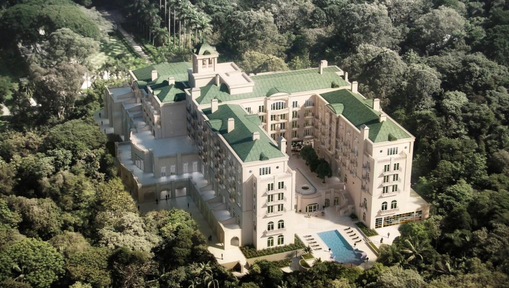Palácio Tangará new São Paulo Hotel