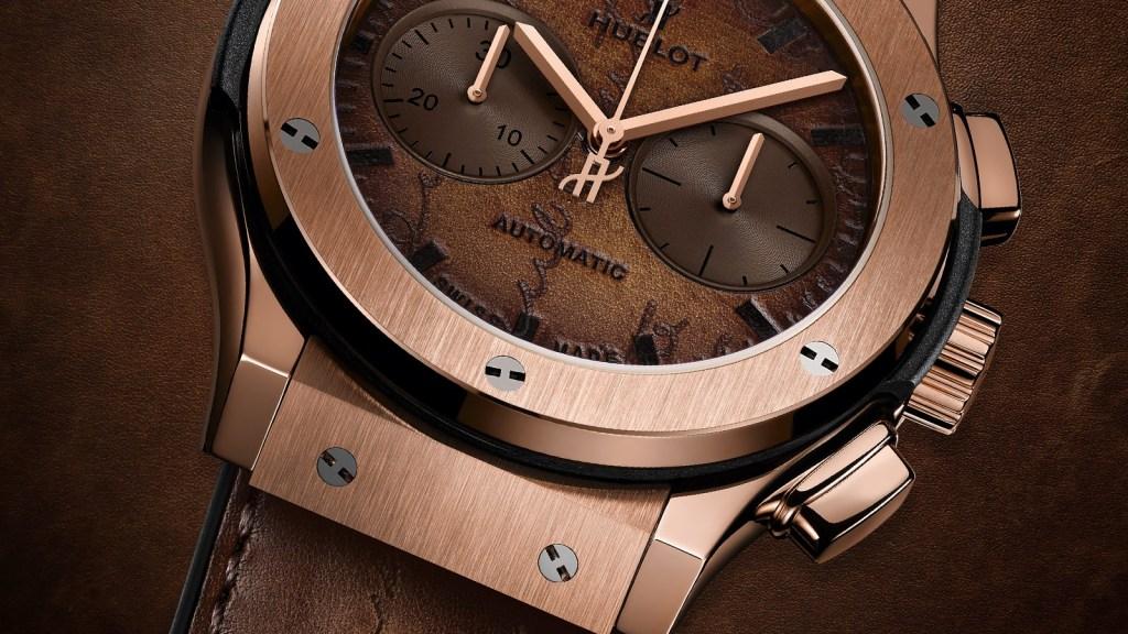 Hublot Berluti Chronograph Watch