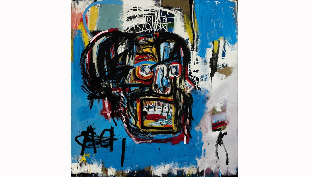 Untitled 1982 Jean-Michel Basquiat Auction Record Sotheby's