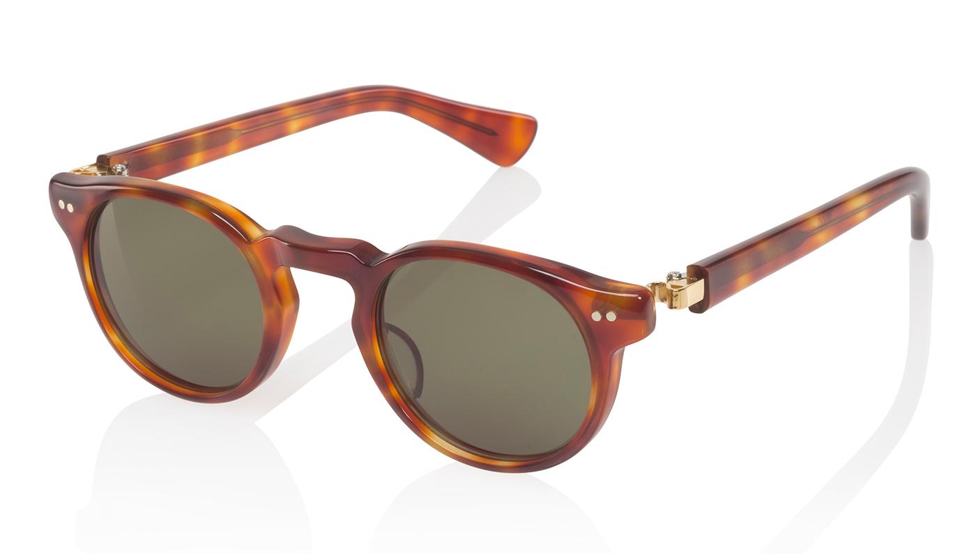 Nackymade Mark orange tortoise sunglasses