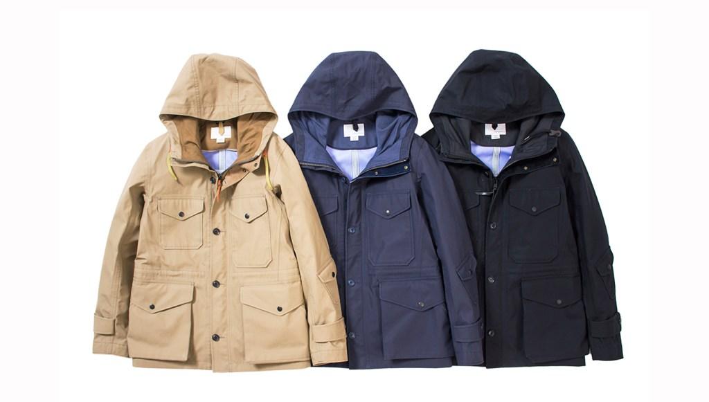 Nanamica coats