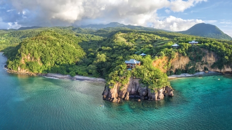 Secret Bay on Dominica