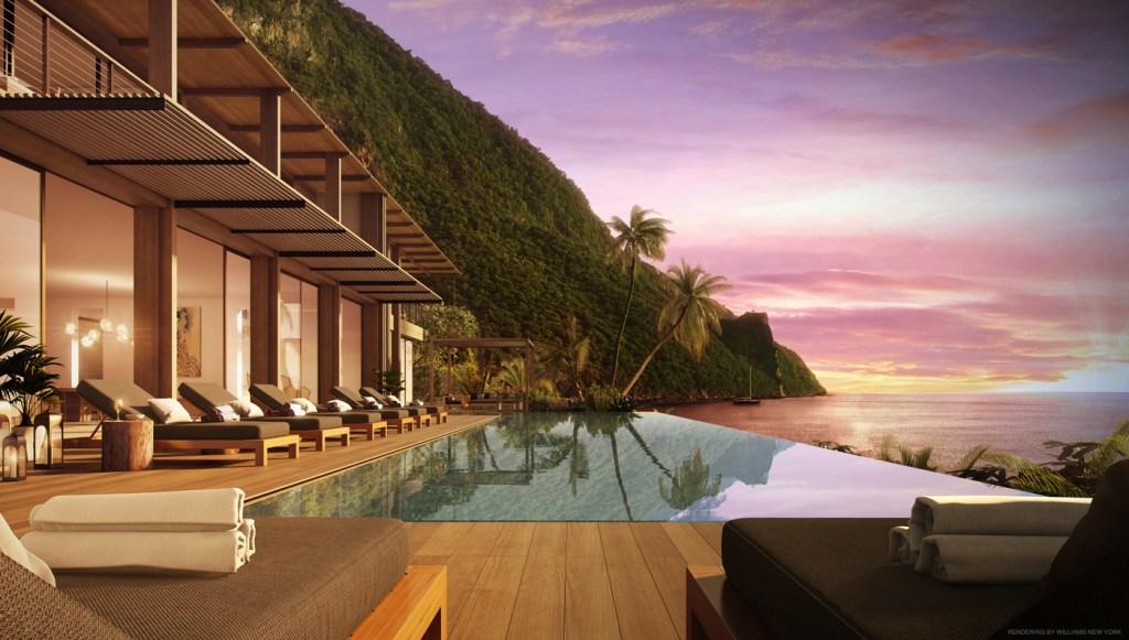 luxury villas on St. Lucia