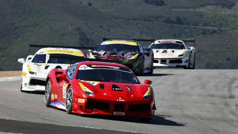 Michael Fassbender Races In The Ferrari Challenge Robb Report