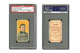 Honus Wagner Baseball Card Auction