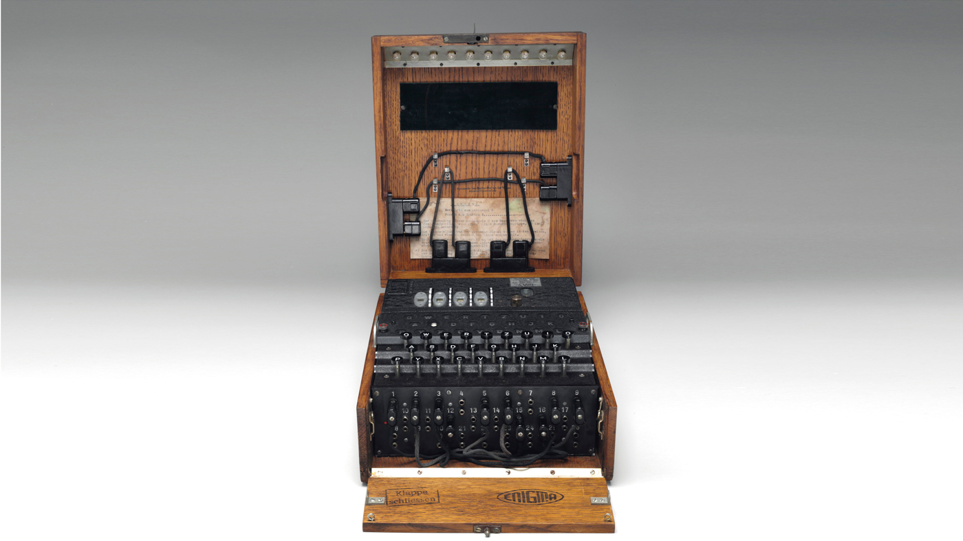 what did the enigma machine do