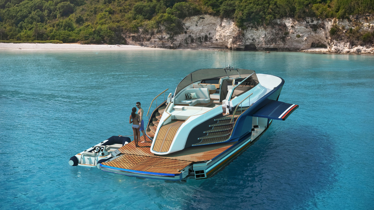 Aeroboat S6 Day Boat Claydon Reeves