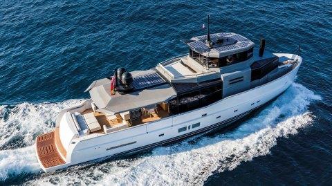 Arcadia Yachts 85S Yacht Italian Eco-Friendly solar power