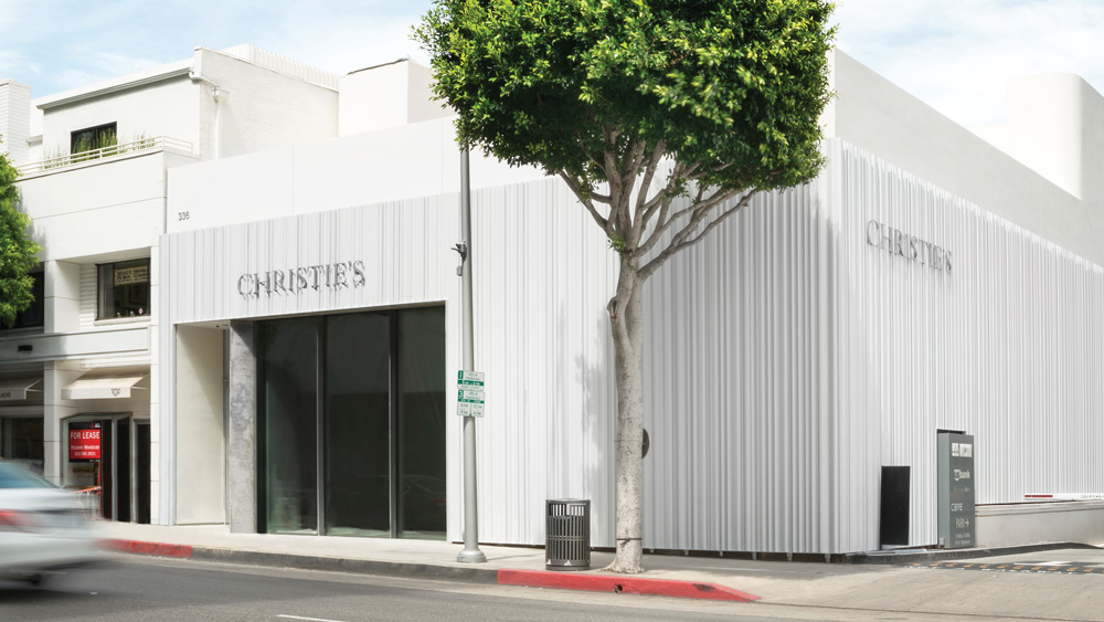 Christie's new flagship brings art-advisory services and private sales exhibitions to Beverly Hills.