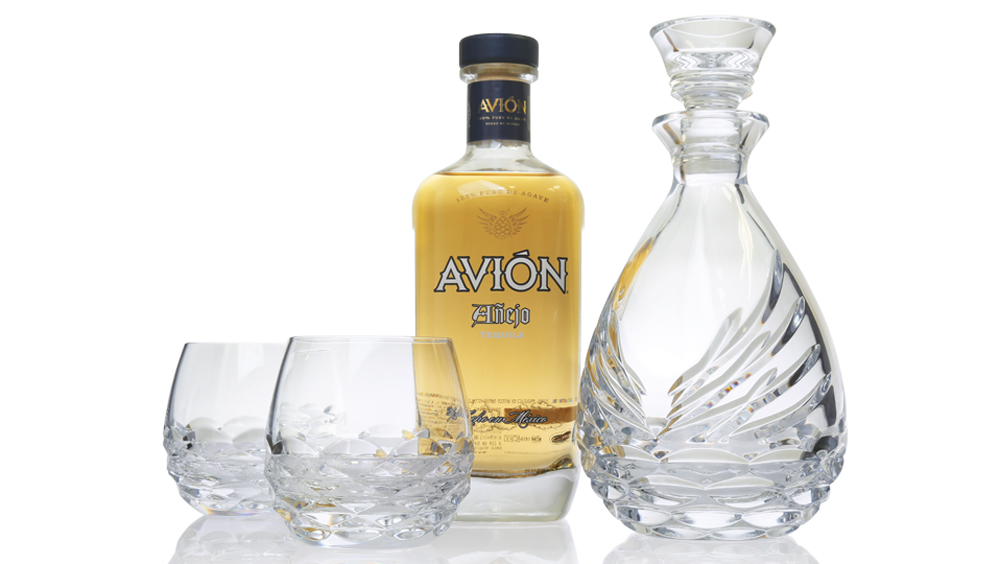 Tequila Avion And Waterford Crystal Pair Up For Handcrafted Glassware Robb Report