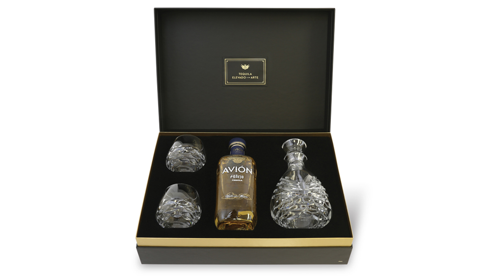 Tequila Glassware From Tequila Avión and Waterford Crystal