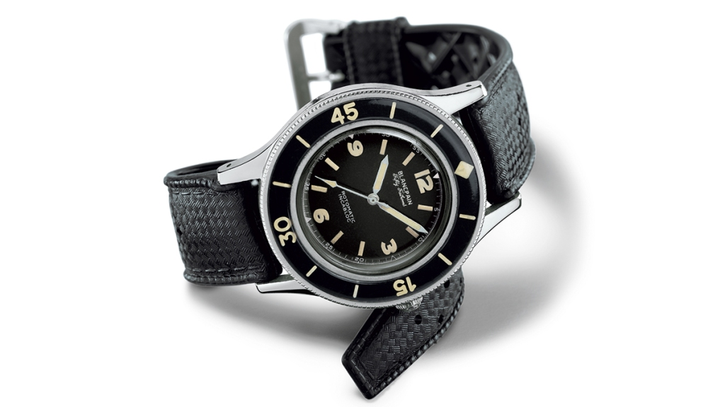 The Original Blancpain Fifty Fathoms
